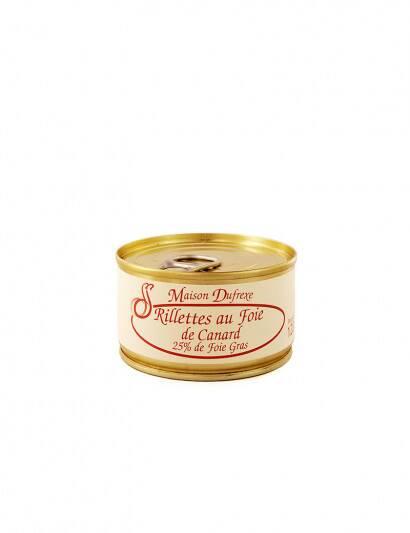 Rillettes au foie gras de...