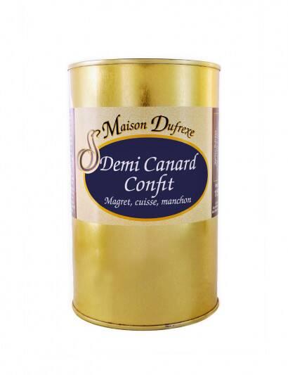 Lot de 3 Demi Canard Confit